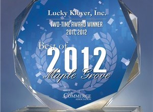 """Best of Maple Grove 2012″ Award Winner (2 Years In A Row)"