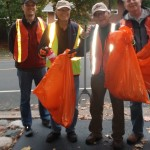 Rotary Club Volunteering: Highway Clean Up!