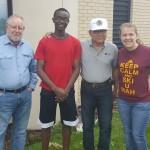 Rotary Volunteering: Planting!